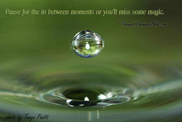 In between moments