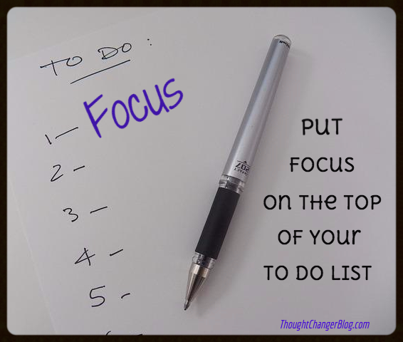 Focus Pocus - Put Focus on Top of Your To-Do List